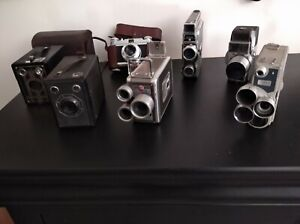 lot de cameras appareils photo vintage