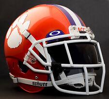 *CUSTOM* CLEMSON TIGERS NCAA Schutt XP Authentic GAMEDAY Football Helmet