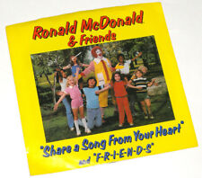 RONALD MCDONALD And Friends - Share A Song From Your Heart 1980 7inch PROMO
