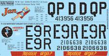 kits-world DECALS 1/32 North-American P-51B MUSTANG #32125