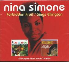 Nina Simone - Forbidden Fruit / Sings Ellington (2CD 2013) NEW/SEALED