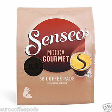Senseo Douwe Egberts Mocca Gourmet Coffee Pads, 5 Packs Of 36 Coffee (180 Pods).