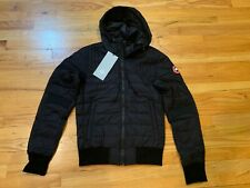 NEW CANADA GOOSE MENS CABRI HOODY S M L XL INSULATED DOWN BLACK 2208M FREE SHIP