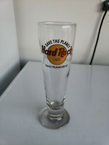 Hard Rock Cafe Save The Planet San Francisco Pilsner Beer Glass
