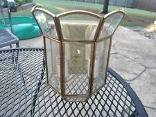 Vintage Wall Mount Sconce Gold Light Fixture