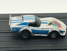 Ho Slot Car Tyco 1970's Chevy Corvette C3 Hawk Wheelie Magnum 440 Chassis Runs