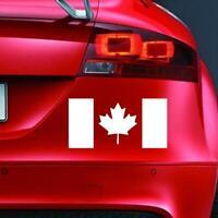 CANADIAN FLAG Sticker Funny Car Window van Bumper 4x4 JDM Novelty Vinyl Decal