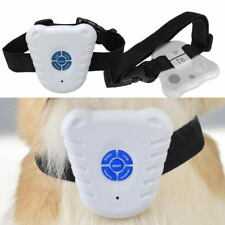 Dog Stop Barking Control Collar Training Device Ultrasonic Dog Anti Bark Collar