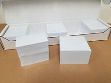 500 Blank White PVC Cards, CR80.30 Mil, High Quality for Color and UV Printing