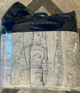 """Ralph Lauren Mariella Paisley King Comforter 110"""" x 96"""" MSRP $430"""