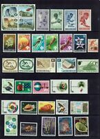 PAPUA NEW GUINEA....PNG.....35 MINT STAMPS