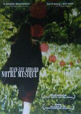 Jean-Luc Godard's NOTRE MUSIQUE (2004) 3 Dantean Kingdoms Hell Purgatory Heaven
