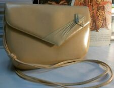 BALLY PURSE ITALIAN MADE CAMEL COLOR SOFT LEATHER STUNNING VINTAGE COUTURE BAG