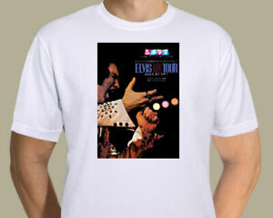 Elvis Presley - Japanese On Tour promotional poster on T-shirt