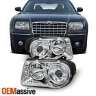 Fits 05-10 Chrysler 300C Replacement Projector Headlights 4805863Ah 4805862Ah  for sale
