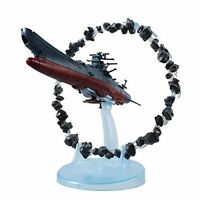 Cosmo Fleet Special Space Battleship Yamato 2202 w/ Asteroid Ring  Figure