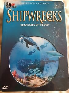 Shipwrecks Graveyards Of The Deep 5 DVD Set Collectors Edition Tin Last Frontier