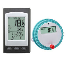 Accurate Wireless Digital Floating Pool Spa Thermometer Water Temperature Sensor