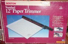 "New ListingBoston 26912 Standard 12"" Paper Cutter / Trimmer Crafts Scrapbooking Photos"