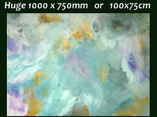 XXL 1000x750 Modern Storm 2 Hand Painted Seascape Abstract Canvas Painting Art