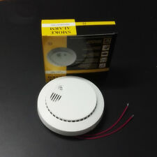 6x Hardwired AC Powered Smoke Alarm & Fire Detector Sensor With Battery Backup