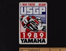 1989 UNITED STATES GRAND PRIX Laguna Seca STICKER MotoGP Yamaha Wayne Rainey