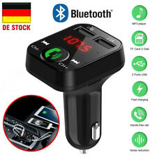 FM Transmitter Auto Mp3 Player USB Radio KFZ SD Bluetooth 5 Freisprechanlage DE