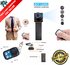 1080 HD Screw Spy Hidden Video Micro Nanny Pinhole Camera DVR Recorder Cam NEW