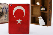 Turkey Turkish National Flag Hard Skin Back Case Cover For Apple iPad Mini 1 2 3