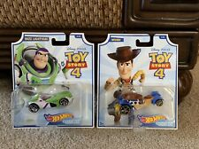"Hot Wheels ""Buzz & Woody"" Toy Story 4 Character Cars"