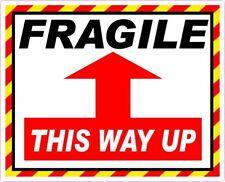 PILA ADESIVI d/'imballaggio fragile-PESANTI-mantenere asciutto-non aprire con un coltello