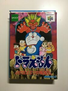 BOXED NINTENDO 64  JAPAN DORAEMON