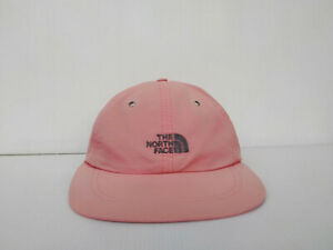 Vintage THE NORTH F. Hat Cap Red 100 % SUPPLEX NYLON