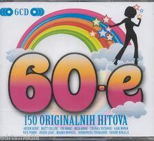 60-e Miso Ivo  6 CD 150 originalnih hitova Josipa Marko Dubrovacki Trubaduri Cro