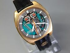 serviced 1974 BULOVA Accutron T shape Spaceview Mens Watch, serviced