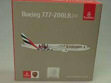 Herpa Wings Boeing 777-200LR Emirates ARSENAL London - 529235 - 1/500