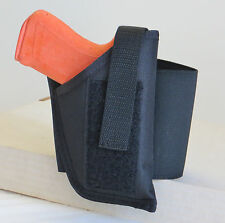 Ankle Gun Holster for WALTHER P22 WITH UNDERBARREL LASER