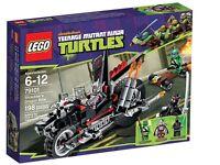 LEGO TMNT 79101 Shredders Dragon Turbo Bike Teenage Mutant Ninja Turtles