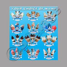 ice cream van stickers full window triple selection