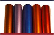 "New Electric Siser Heat press transfer vinyl - 12"" x 15"" EACH, 5 colors KIT"