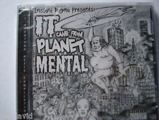 It Came From Planet Mental A Wormtown Music Complilation From Instant Dogma New