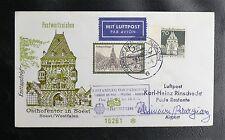 AIR MAIL : ERSTANFLUG VON PARAGUAY - FRANKFURT / MÜNCHEN / ASUNCION - 13 5 1971