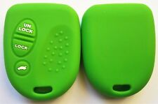 GREEN SILICONE KEY COVER SUITS HOLDEN COMMODORE VS VT VX VY VZ WH WK WL