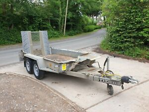 Ifor Williams GH94 BT Twin Axle 9' x 4', Mini Digger, Plant, Beavertail Trailer