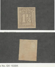 Hamburg - Germany, Postage Stamp, #9B Small Thin Mint Hinged, 1864