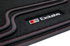 Exclusive Line Fußmatten für Audi A4 8H B6 B7 Cabrio S-Line Bj. 2002-2009