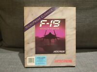 "F-19: STEALH FIGHTER Complete in Big Box - IBM PC on 1.44MB 3.5"" Floppy Disk CIB"