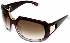 Dsquared2 Sunglasses Women Brown Burgundy Rectangular DQ0036 71F