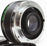Pro Multi-Coated 2X Tele Converter For Olympus OM Mount Manual Lens