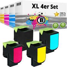 4 XXL TONER für LEXMARK CX310DN CX310N CX410DE CX410DTE CX410E CX510DTHE CX510DE